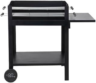 Tepro Chill&Grill Lambada - Barbacoa de carbón (sin tornillos), color negro
