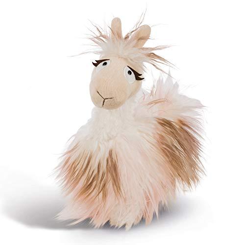 NICI Plüschtier Lama Flokatina 23 cm – Lama Kuscheltier beige für Jungen, Mädchen & Babys – Flauschiges Stofftier zum Kuscheln, Spielen und Schlafen – Gemütliches Schmusetier ab 12 Monaten – 44393