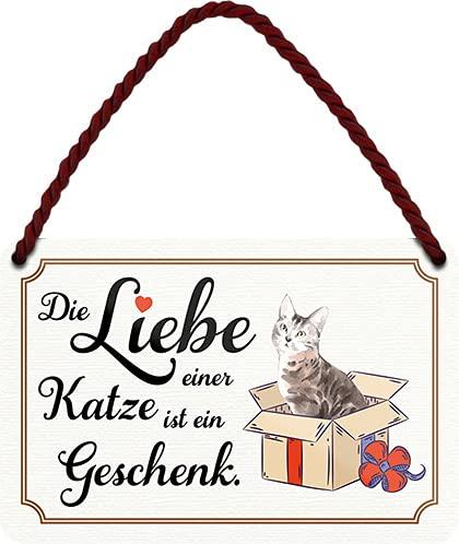 schilderkreis24 – Cartel de chapa divertido con texto en alemán