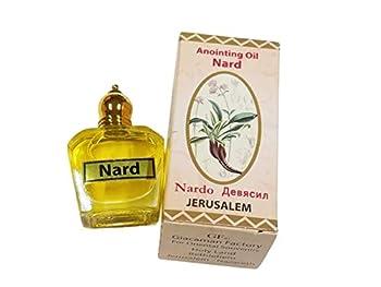 Nard Nardo Anointing Oil Bottle 30ml Authentic Fragrance from Jerusalem