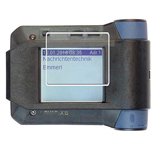 Vaxson 3 Stück Anti Blaulicht Schutzfolie, kompatibel mit Swissphone s.QUAD X35, Displayschutzfolie Anti Blue Light [nicht Panzerglas]