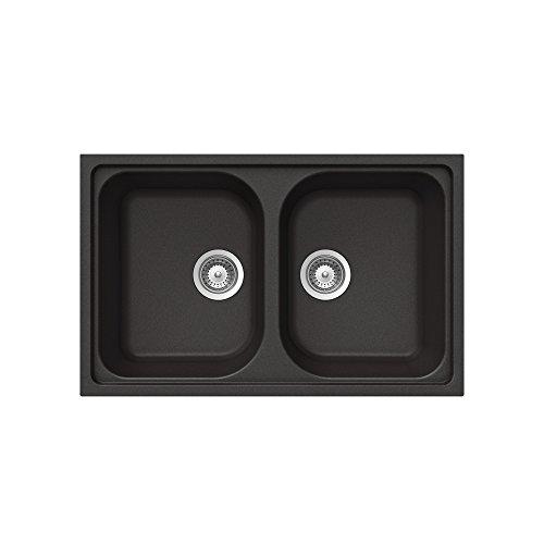 Teka 40143488 Alba 80 B-TG granito fregadero de cocina con