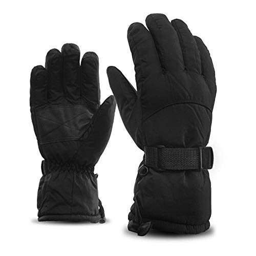Winter Zwart dik warm voor mannen en vrouwen Waterdichte wind Handschoenen