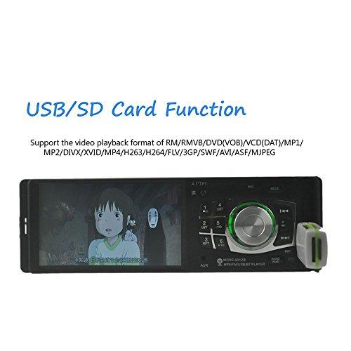 BoomBoost 4.1 Radio de voiture Contrôle de la roue Bluetooth stéréo FM / USB Lecteur MP3