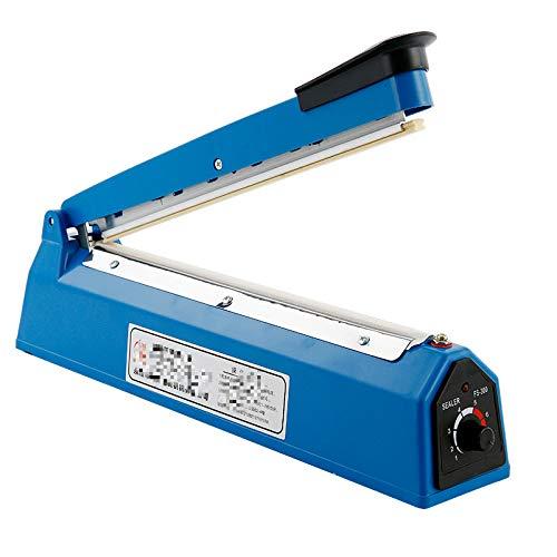 Folienschweißgerät Handpressbeutel Versiegelung Manuelle Impulsversiegelungsmaschine Film Aluminium Plastiktüte Heizungsversiegelung Wärme Polybeutel