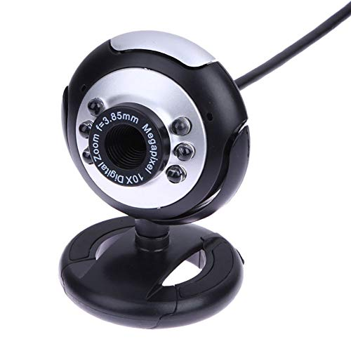 Comet Webcam Usb Camera With Microphone Video Call And Recording For Laptop Desktops For Skype, Msn Messenger