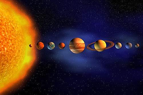 Sconosciuto Puzzlecao Italy Puzzle 500 Pezzi Sole Dell'Universo Planetario Famiglia Puzzle per Bambini in Legno Gioco Puzzle Regalo di Natale-500 Pezzi