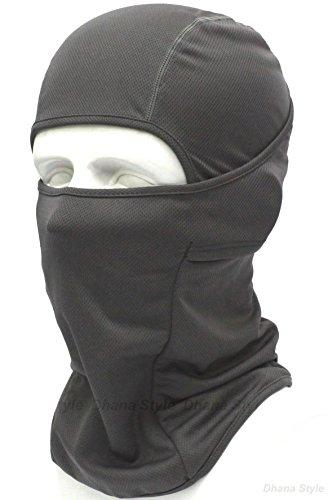 BXB Type 3Way タクティカル フェイスマスク ・アーミー バラクラバ ・SWAT 目だし帽 ミリタリー カモフラージュ ・ ネックウォーマー イヤーキャップ ・ 万能 ヘッドウェア ★ 通気性・保温性・速乾性 良好 ~サラっとした着け心地~ 軍用・サバイバルゲーム・自転車・バイク・アウトドア グレー