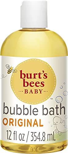 Burt\'s Bees Baby Sanftes Schaumbad und Waschgel, 350 ml Flasche