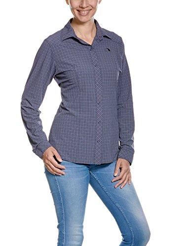 Tatonka Nilo W S LS T-Shirt Chemise FR:42 Bleu Mat