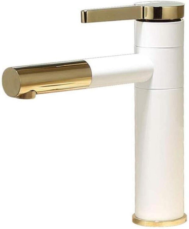 Küche Bad Wasserhahnkupferfarbe Bad Wasserhahn Einlochmontage Becken Wasserhahn Hei Und Kalt Waschbecken Waschbecken Waschbecken Waschen