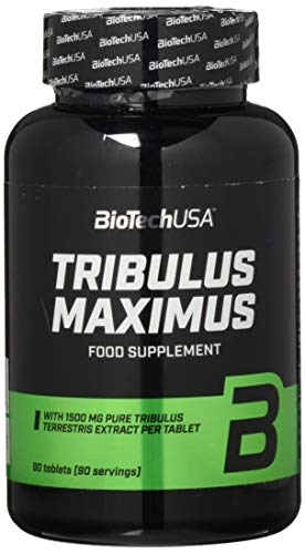 BioTech USA Tribulus Maximus (1500) 90 Tabletten, 1er Pack (1 x 171 g)