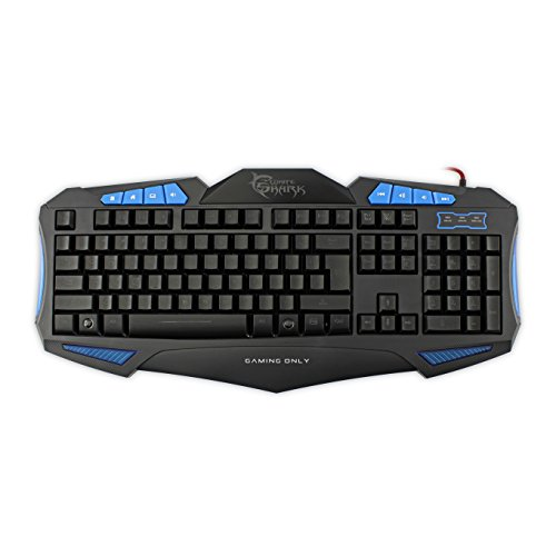 White Shark toetsenbord GK-1621 Shogun blauw