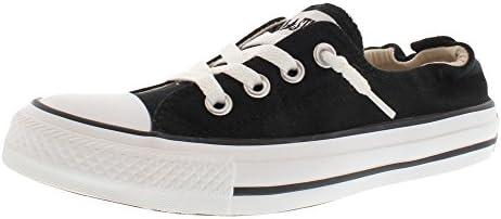 Converse Women Shoreline Slip on Sneaker Black White 7 product image