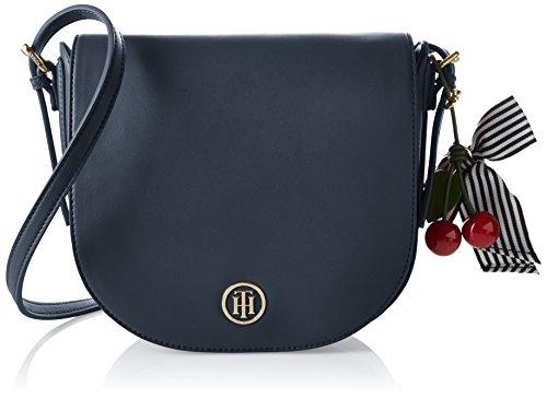 Tommy Hilfiger Cherry Saddle Bag, Sacchetto Donna, Multicolore...
