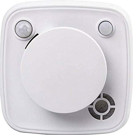 Blaupunkt Security MD-S1 - Sensor de Humo + Movimiento + Calor + Temperatura con Sirena integrada