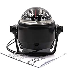 commercial DETUCK (TM Boat Compass Dashboard Boat Compass Dash Mount Marine Compass for Night Lighting compass for car