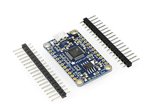 Adafruit Audio FX Mini Sound Board WAV/OGG Trigger Built in Storage 2MB Flash Micro USB Support Compressed or Uncompressed Audio Control Over UART No Arduino or Other Microcontroller Required! 2342