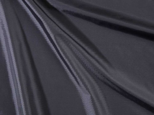 Such Textiles Black Waterproof Ripstop Coated Fabric (Per Metre)