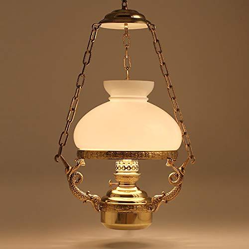 (DIL8203-WH)(サロ-ンランプ 白セ-ド-14) 真鍮製 船舶燈オイルランプ ランタン オランダ製 DEN HAAN ROTTERDAM デンハーロッテルダムDHR ペンダントライト