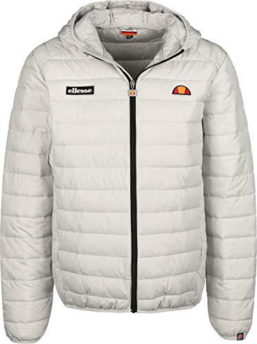 ellesse Jacke Herren Lombardy Padded Jacket Grau Light Grey, Größe:M