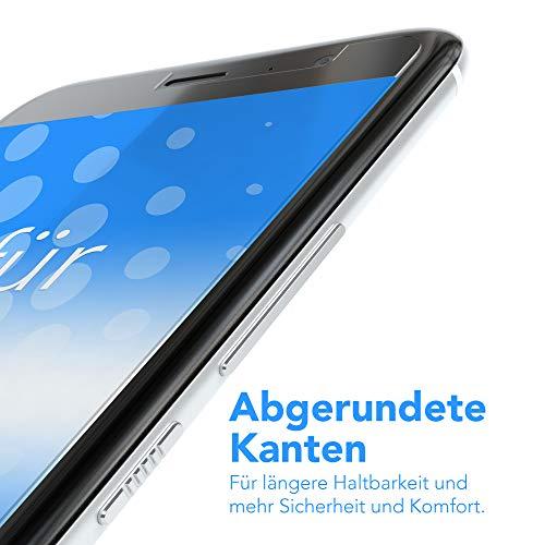 EAZY CASE Silikonhülle & Panzerglas Set kompatibel mit Huawei Ascend Y530 I Displayschutzglas, Panzerglas 0,3 mm 9H Härte, Schutzhülle Ultra dünn, Silikon Hülle, Backcover, Transparent/Kristallklar - 2