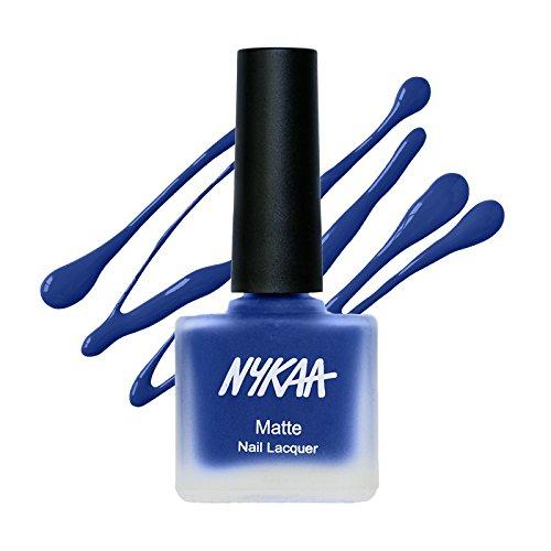 Nykaa Matte Nail Enamel - Blueberry Compote (Shade No.119) (9 ml)