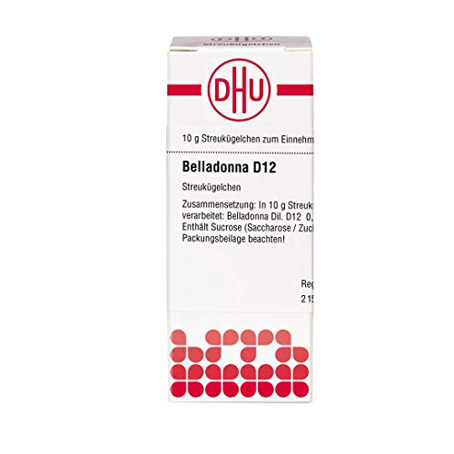 DHU Belladonna D12 Streukügelchen, 10 g Globuli