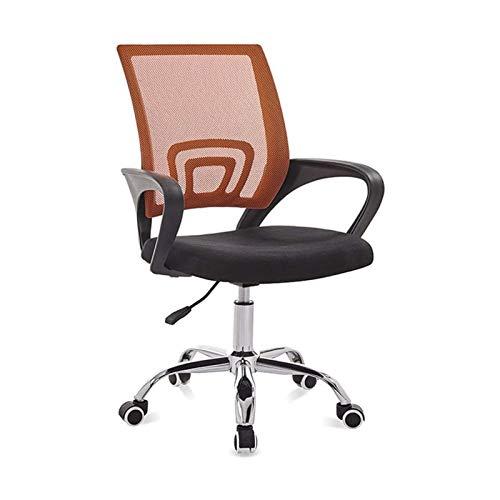 Sdesign Silla de oficina moderna simple, silla de redacción Silla de escritorio altura Sillas de oficina con espalda de reposo Altura Ajustable Swivel Swivel Redacción Taburete Ergonómico Silla de ofi
