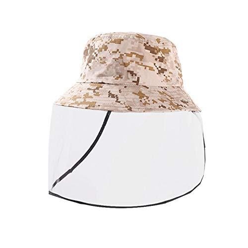 WZJAM Anti-Fog Hat Pescador Hat Cover Face Protector Hat Hombres Ladies Children Outdoor Gear Riding-C