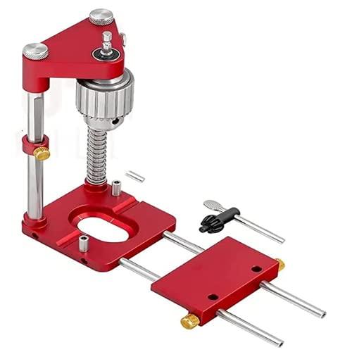 Aluminium Woodworking Punch Locator Tool, tragbare Bohrer Locator Woodpeckers Präzisionspositionierer, Holzbearbeitung Dübel Jig Set Positioning Punch für Bohrmaschine Und Akkuschrauber