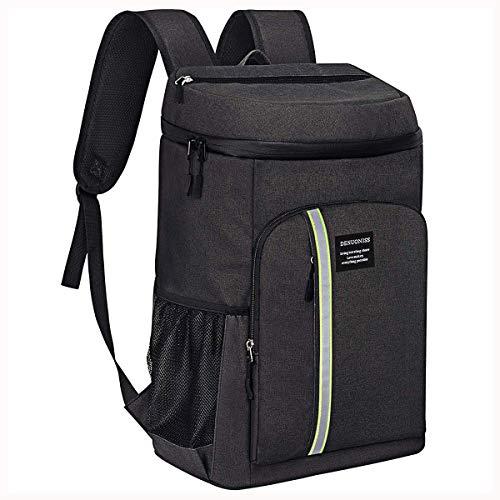 Neusky Wasserdicht kühltasche Rucksack Picknickrucksack für Camping und Wandern (Schwarz)