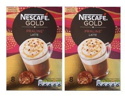 Nescafe Gold Pralinen-Latte, 144 g, 2 Stück