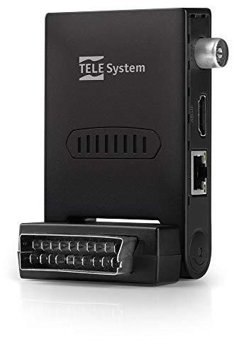 TELE System TS6807 digitale Terrestre Full HD Nero dvbt2