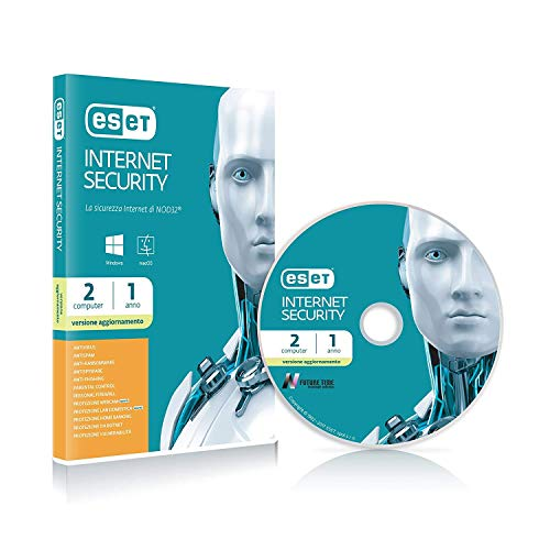 ESET Internet Security 1yr 2u-, Renovación