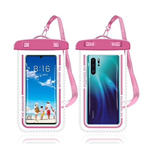 Waterproof Phone Case Compatible for Below 7.2 Inches Size and Sensitively...