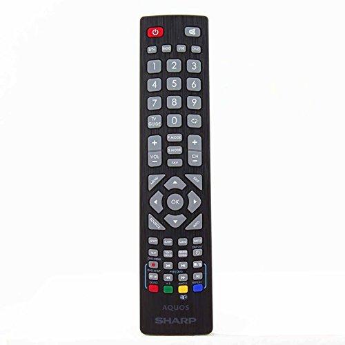 Sharp Aquos SHW RMC 0103 Telecomando originale per LCD LED 3D Smart TV HD con pulsanti 3D - Con due batterie AAA 121AV incluse