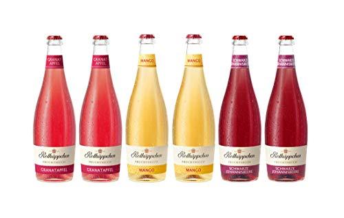 Rotkäppchen Fruchtsecco Mix-Set – Fruchtsecco Granatapfel (2 x 0,75l), Fruchtsecco Mango (2 x 0,75l), Fruchtsecco Schwarze Johannisbeere (2 x 0,75l)