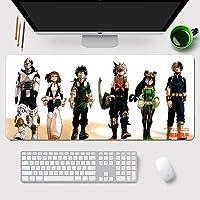 11Q 僕のヒーローアカデミア My Hero Academia 大判マウスパッド パソコン 周辺機器 アニメ・キャラクター ゲーミング マウスパッド 巨大 適用 ファッション かわいい 萌え 90X40X0.3cm