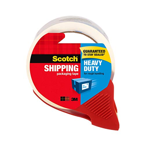 Scotch Heavy Duty Packing Tape with Dispenser
