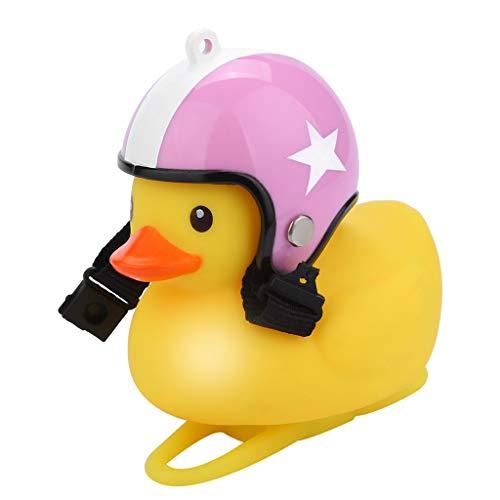 Cartoon Duck Head Light Shining Duck Bicycle Bells Handlebar Bicycle...