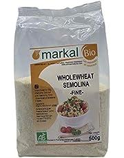 Markal 500Gm Organic Wholewheat Semolina