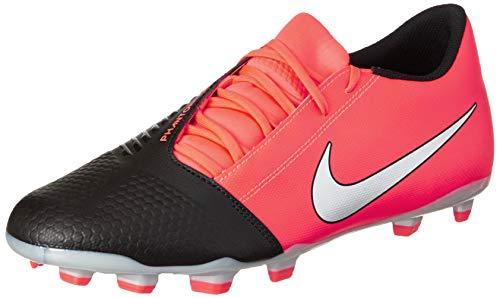 Nike Men's Phantom Venom Club FG Laser Crimson/Metallic Silver-Black Leather Soccer Shoe-11 Kids UK (AO0577-606)