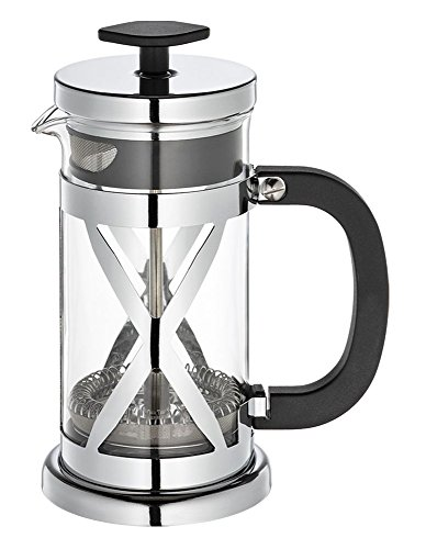 Cilio Kaffeebereiter Gloria, Glas, Silber, 14,5 x 33,5 x 14,5 cm