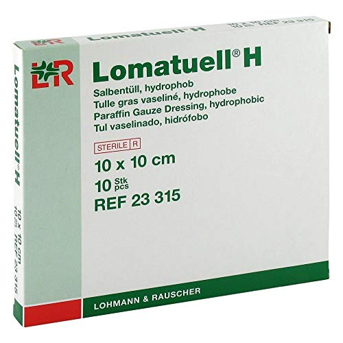 Lomatuell H 23315 Verbände, 10 cm x 10 cm (10-er pack)