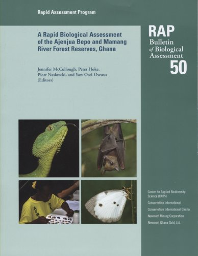 A Rapid Biological Assessment of the Konashen Community Owned Conservation Area, Southern Guyana (RAP Bulletin of Biological Asessment, Band 51)