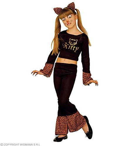 Katzenkostüm für Mädchen getigert