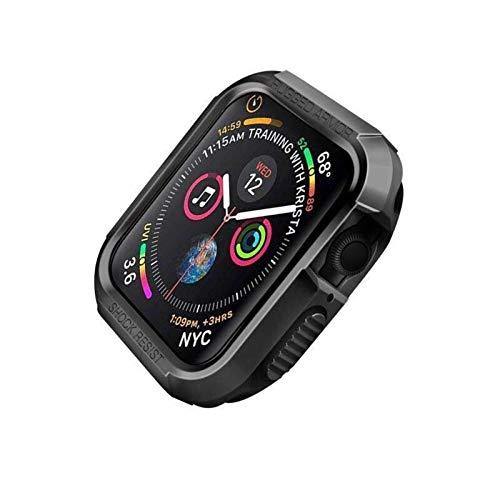 Caso de Cubierta Aplicar a Apple Watch Case 44mm 40 mm de Goma Protectora TPU TPU Fuerte Cubierta Protector de la Cubierta de la Cubierta de Apple Watch Series 5 4 44 mm