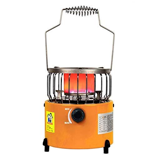 Portátil individual GPL Estufa del quemador Gamma, Camping Rejilla de cocción W/Cast Soporte de plancha, cocina de gas en cámara de seguridad del calentador para tienda de campaña
