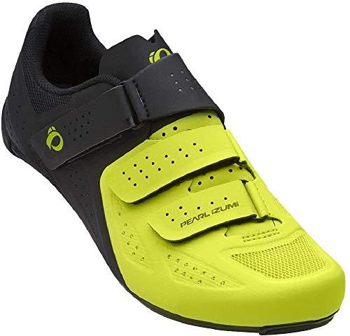 Pearl Izumi Select Road v5 Chaussures pour Homme - Jaune - Noir/Vert Citron, 41 EU